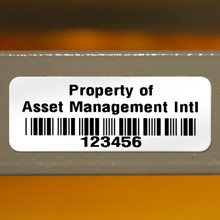 Removable Asset Tags