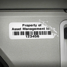 Destructible Vinyl Asset Labels Offer Added Security