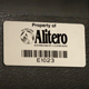 Durable Aluminum Bar Code Labels and barcode stickers