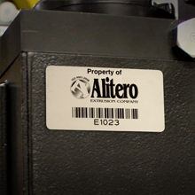 Metalphoto Bar Code Labels for Harsh Industrial Environments
