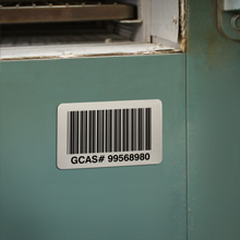 Bar Code Labels with Extreme High Temperature Resistance for Work In Process Applications
