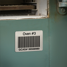 Bar Code Labels for Extra High Temperature Industrial Applications