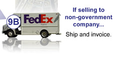 UID Compliance Flowchart Step 9 B: If Selling to Non-Government Company Simply Ship and Invoice