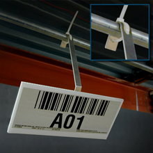 Pipe Mount Retro-Reflective Bar Code Labels