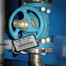 CMMS with Teflon Bar Code Labels