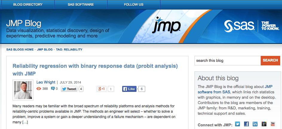 JMP Blog