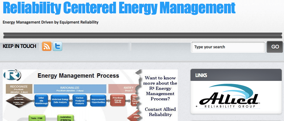 Reliability Centered Energy Management