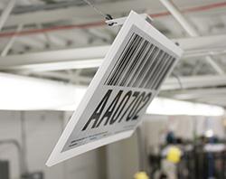 warehouse hanging sign