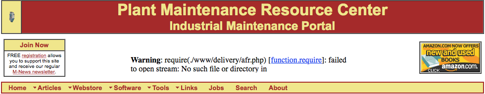 Plant Maintenance Resource Center