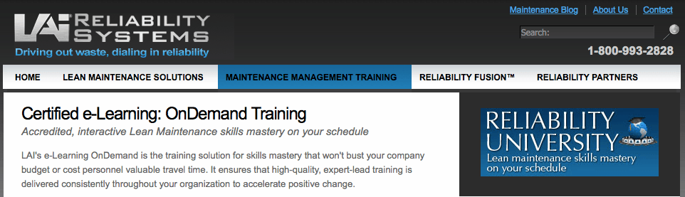 Reliability University