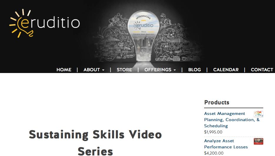 Sustaining Skills Video Series