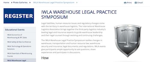 IWLA Warehouse Legal Practice Symposium
