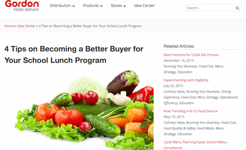 4 Tips on Becoming a Better Buyer for Your School Lunch Program