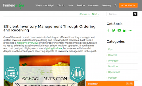 Efficient Inventory Management through Ordering and Receiving