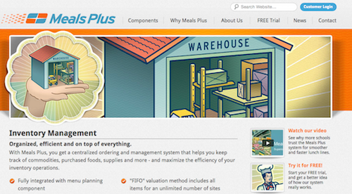 Meals Plus Inventory Management System