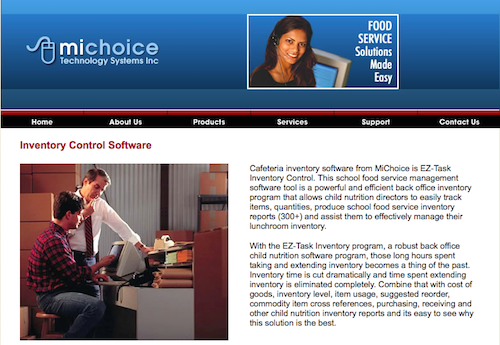 MiChoice EZTask Inventory Control