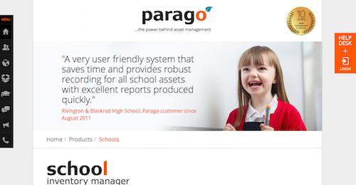 Parago School Inventory Manager