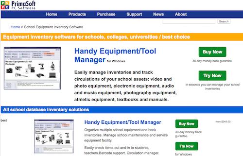 PrimaSoft Handy EquipmentTool Manager