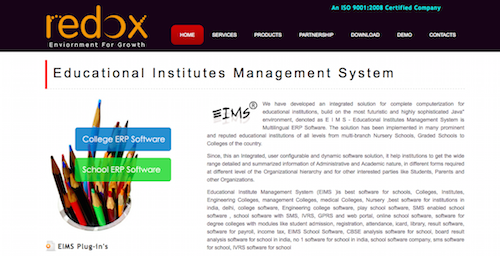 Redox Educational Institutes Management System