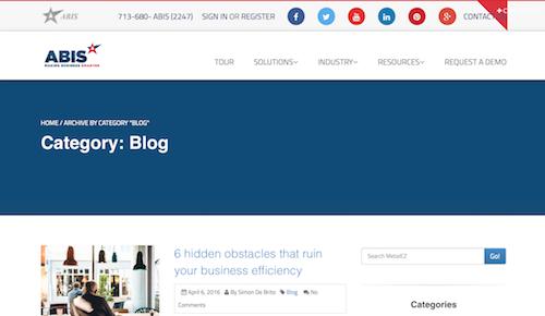 ABIS Blog