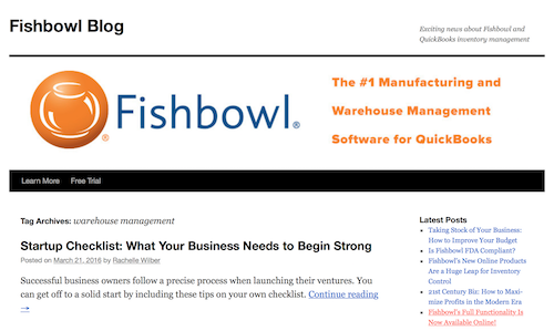 Fishbowl Blog