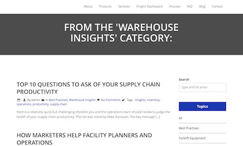 Gilmour Industrial Blog