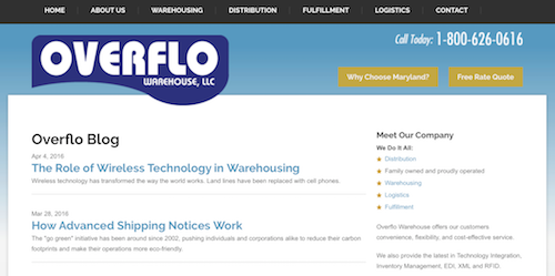 Overflo Blog