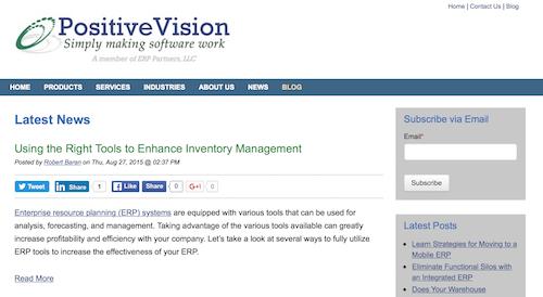 Positive Vision Blog