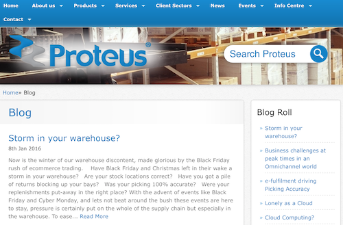 Proteus Software Blog