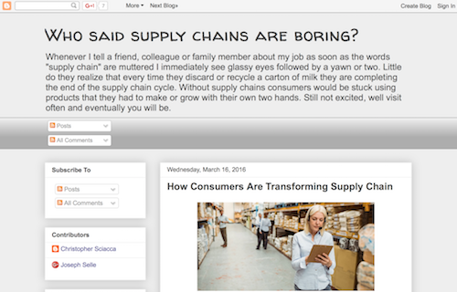 Supply Chains Rock