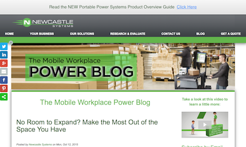The Mobile Workplace Power Blog