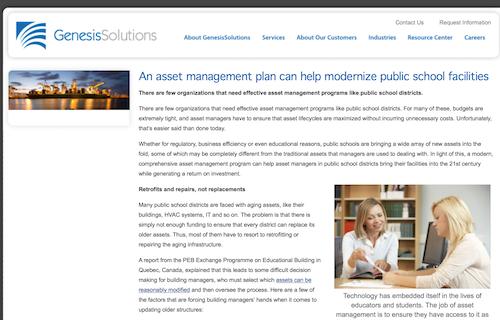 An Asset Management Plan Can Help Modernize Public School Facilities