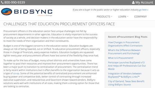 Challenges That Education Procurement Officers Face