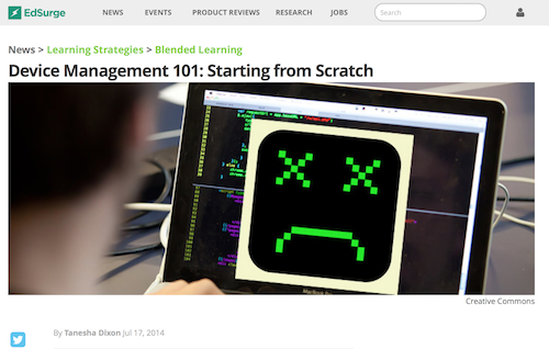 Device Management 101 Starting from Scratch