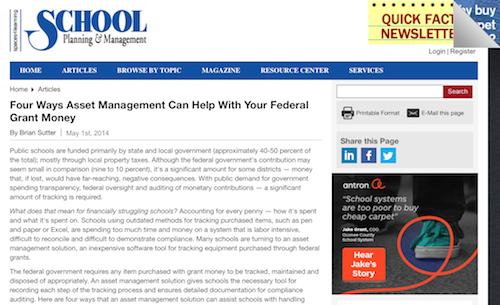 Four Ways Asset Management Can Help with Your Federal Grant Money