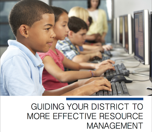 Guiding Your District to More Effective Resource Management