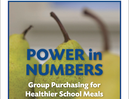 Power in Numbers Group Purchasing for Healthier School Meals