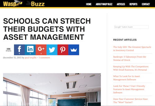 Schools Can Stretch Their Budgets with Asset Management