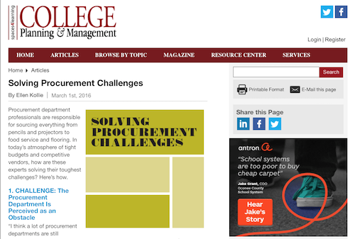 Solving Procurement Challenges