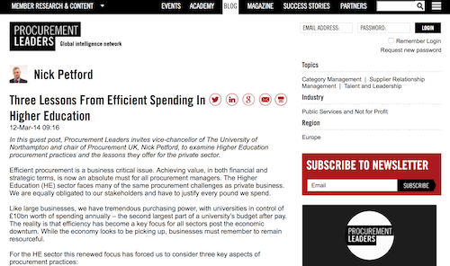 Three Lessons from Efficient Spending in Higher Education