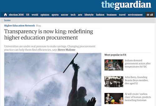 Transparency is Now King Redefining Higher Educaiton Procurement