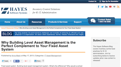 Why Building Level Asset Management is the Perfect Complement to Your Fixed Asset System