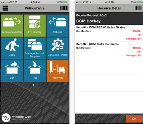 WithoutWire Warehouse Management System