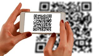 QR codes are one barcode type