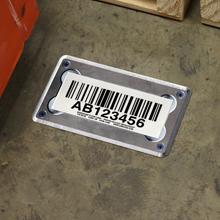 Screw-Down Warehouse Floor Labels