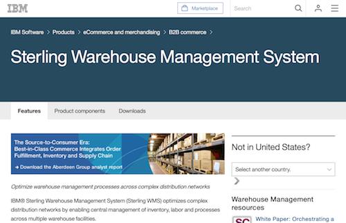 IBM Sterling Warehouse Management System