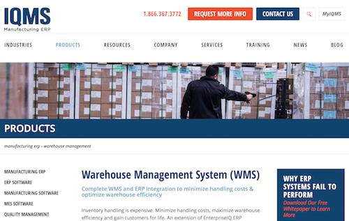 IQMS Warehouse Management System
