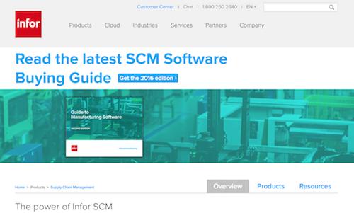 Infor SCM
