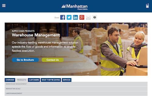 Manhattan Associates Warehouse Management System