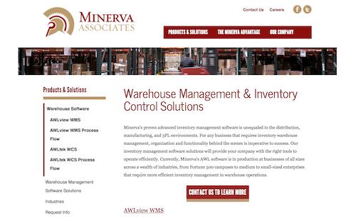 Minerva Associates Warehosue Management & Inventory Control Solutions